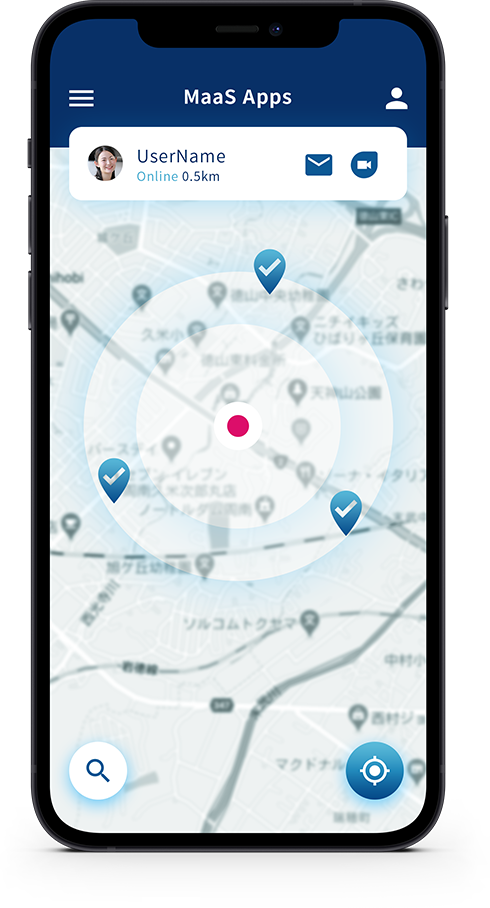 MaaSアプリの開発サービス